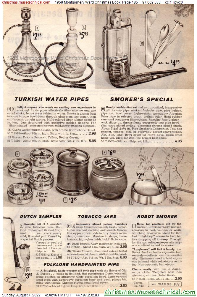 1958 Montgomery Ward Christmas Book, Page 185