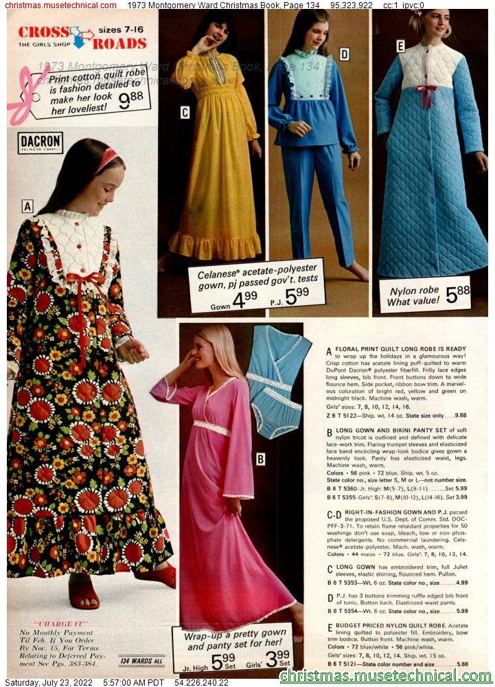 1973 Montgomery Ward Christmas Book, Page 134