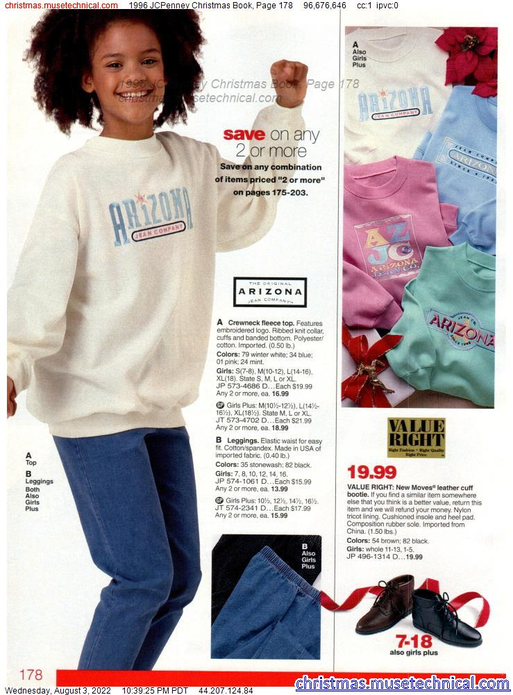 1996 JCPenney Christmas Book, Page 178