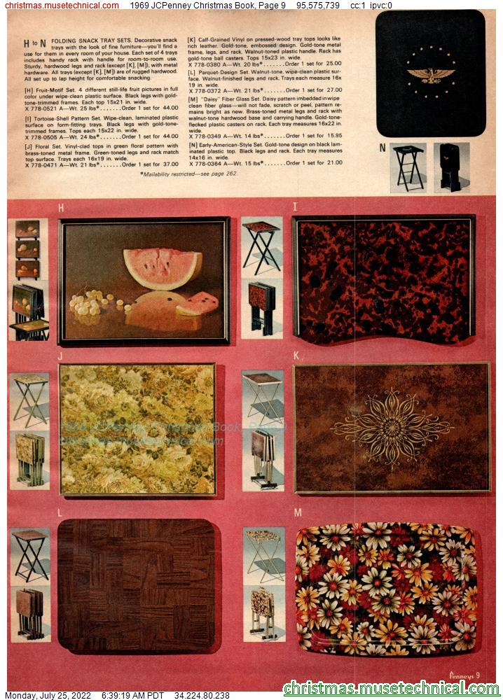 1969 JCPenney Christmas Book, Page 9