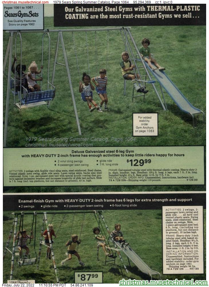 1979 Sears Spring Summer Catalog, Page 1064