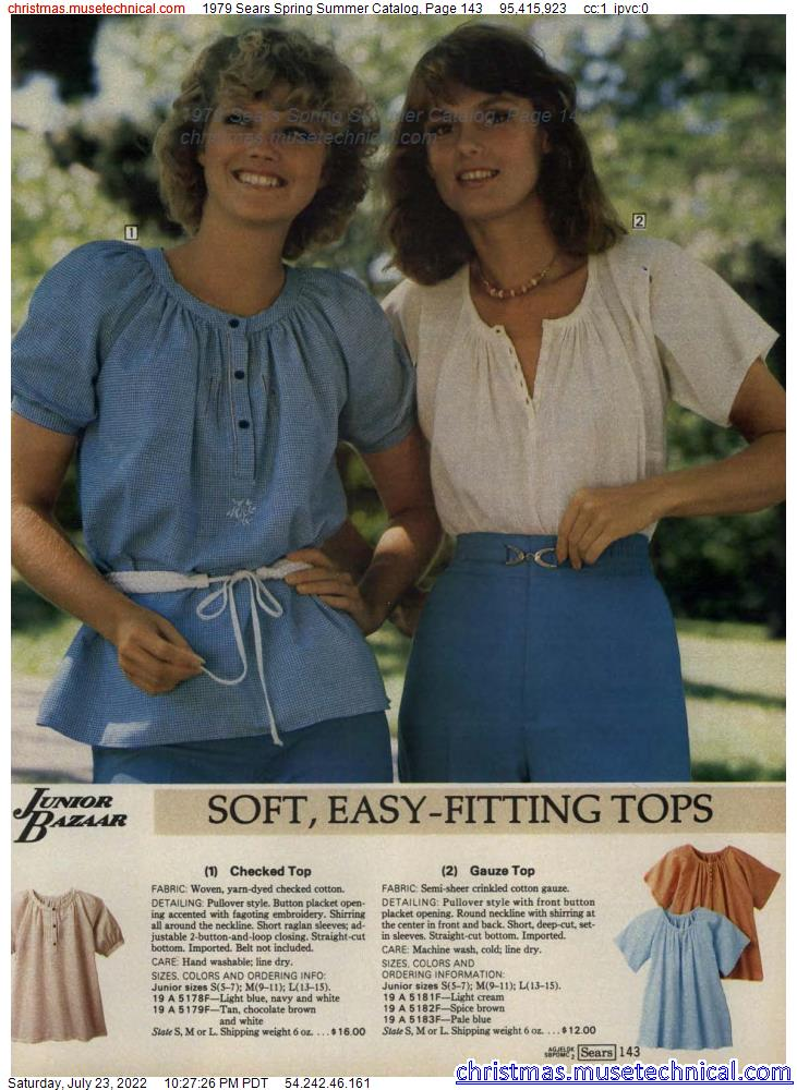 1979 Sears Spring Summer Catalog, Page 143