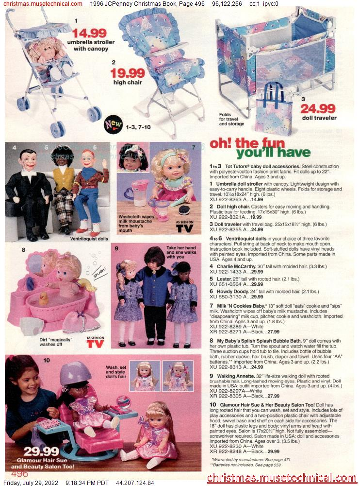 1996 JCPenney Christmas Book, Page 496