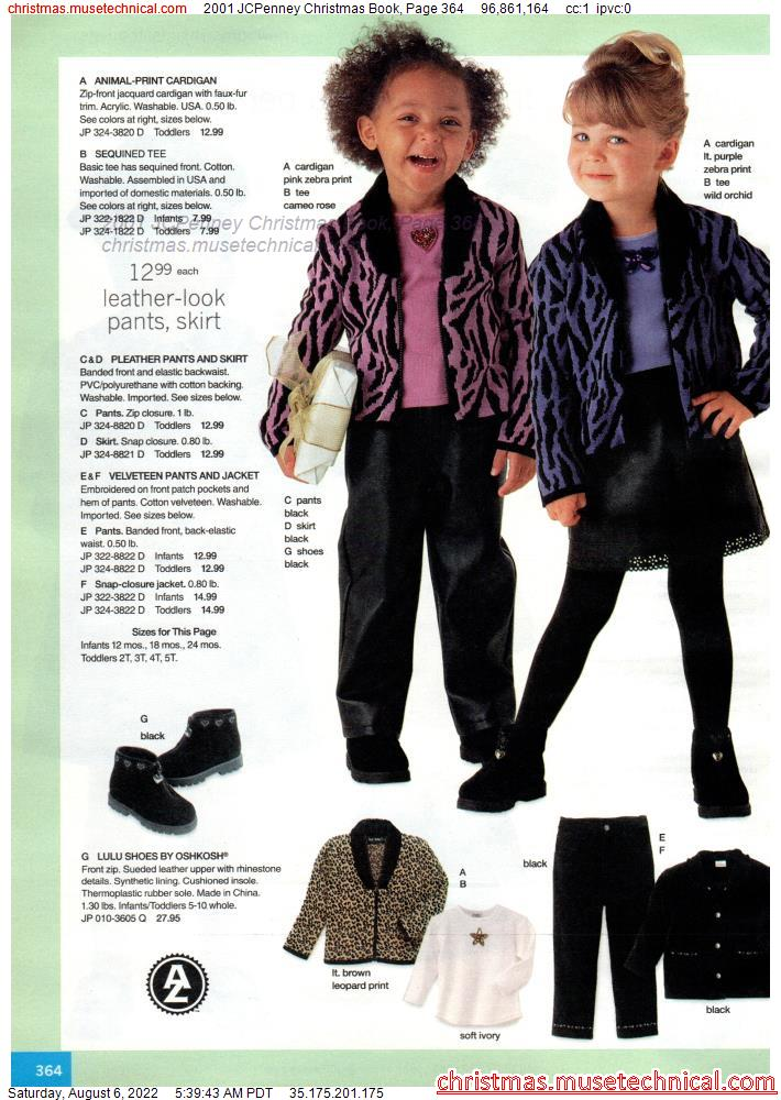 2001 JCPenney Christmas Book, Page 364