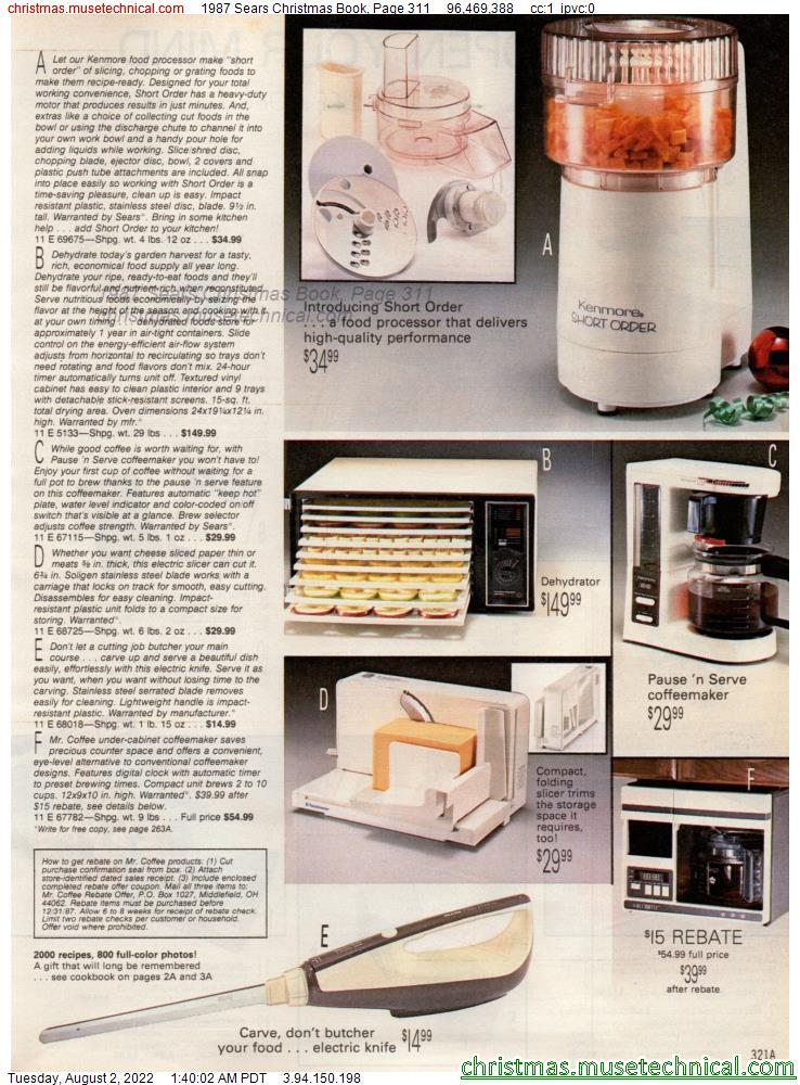 1987 Sears Christmas Book, Page 311
