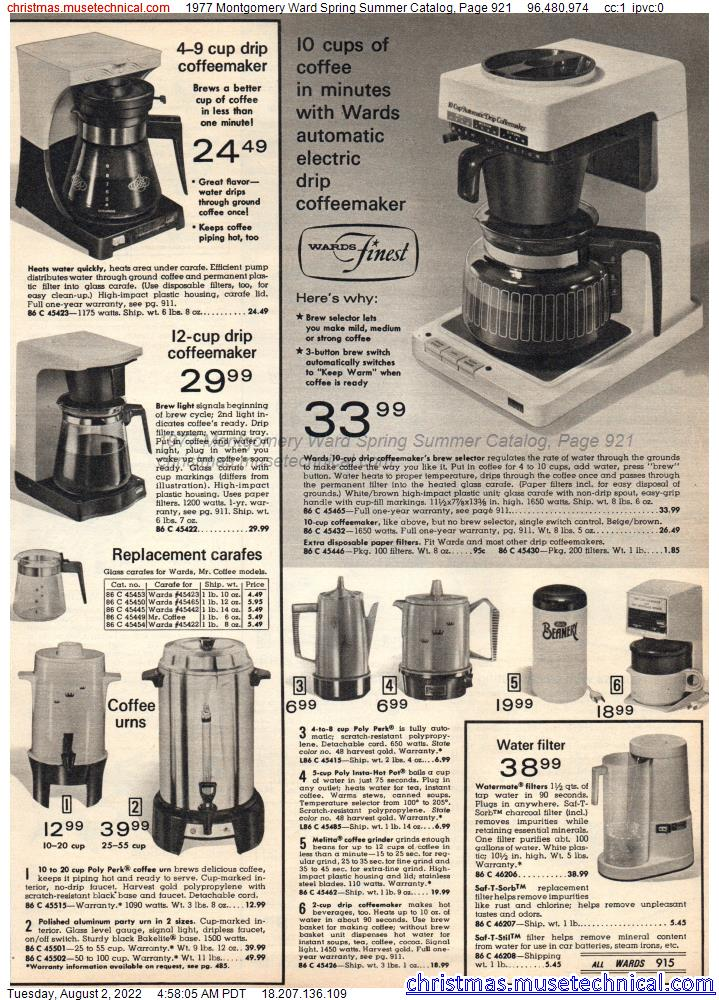 1977 Montgomery Ward Spring Summer Catalog, Page 921