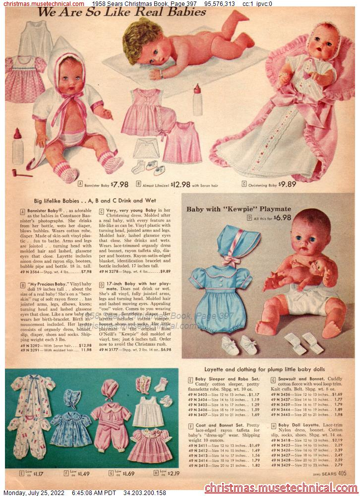 1958 Sears Christmas Book, Page 397