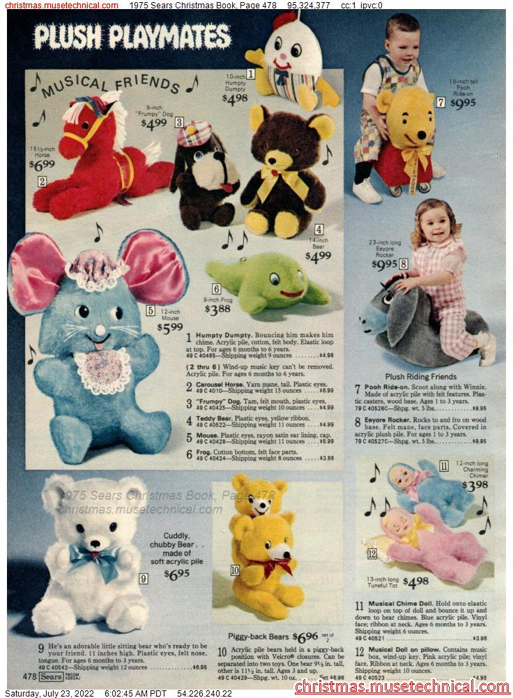 1975 Sears Christmas Book, Page 478