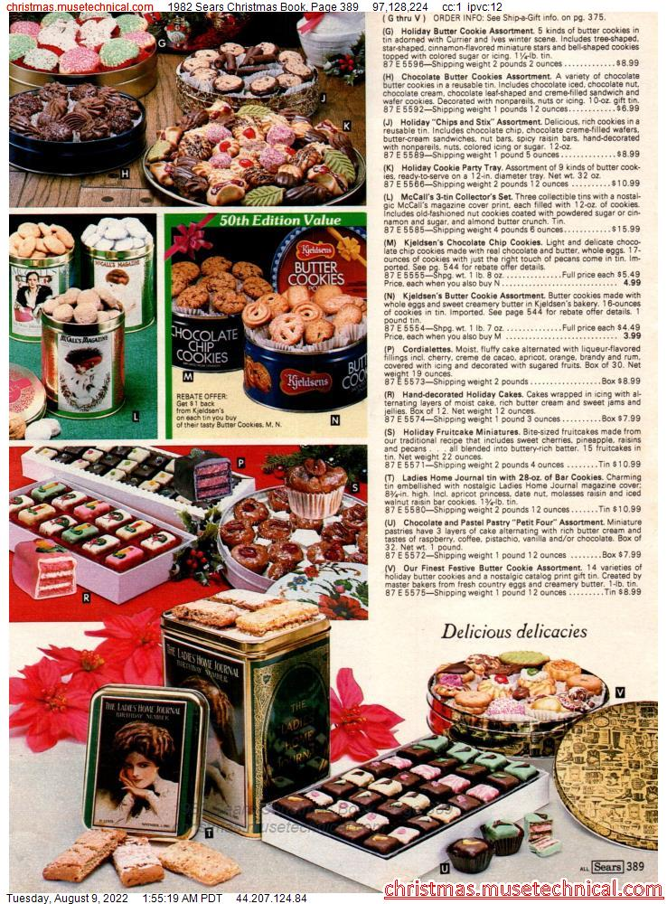 1982 Sears Christmas Book, Page 389