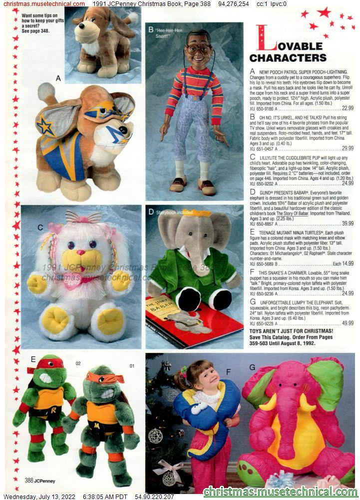 1991 JCPenney Christmas Book, Page 388