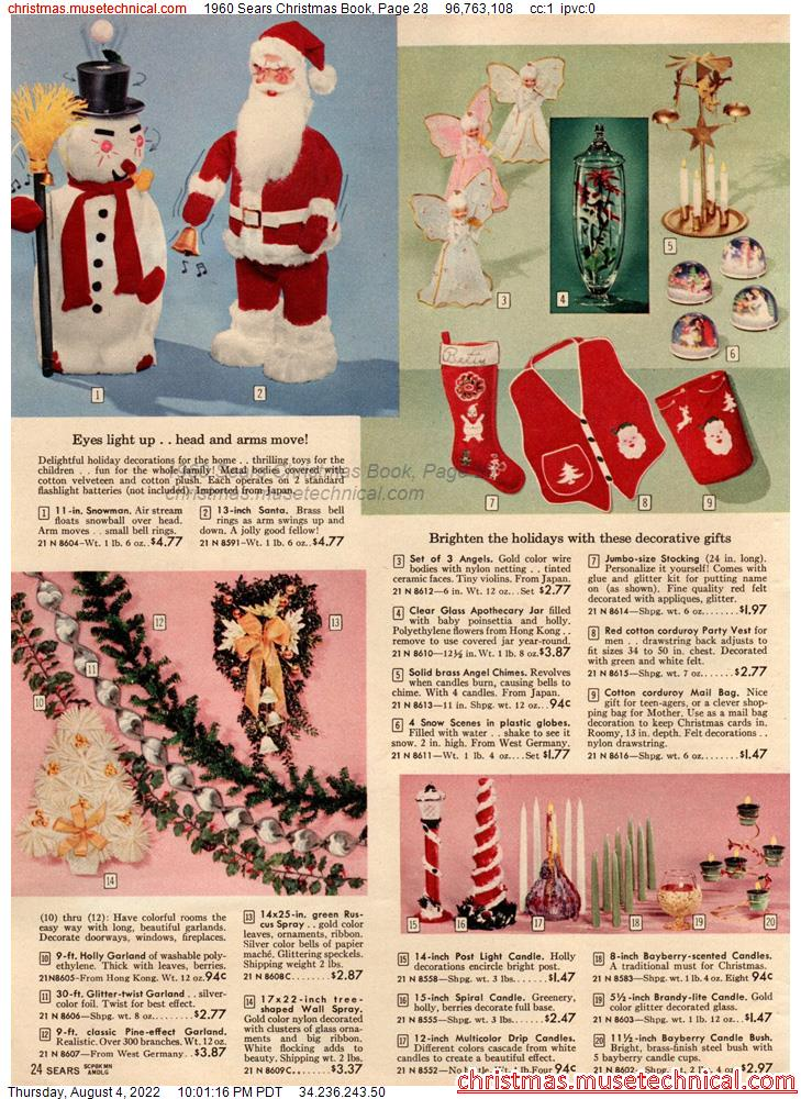 1960 Sears Christmas Book, Page 28
