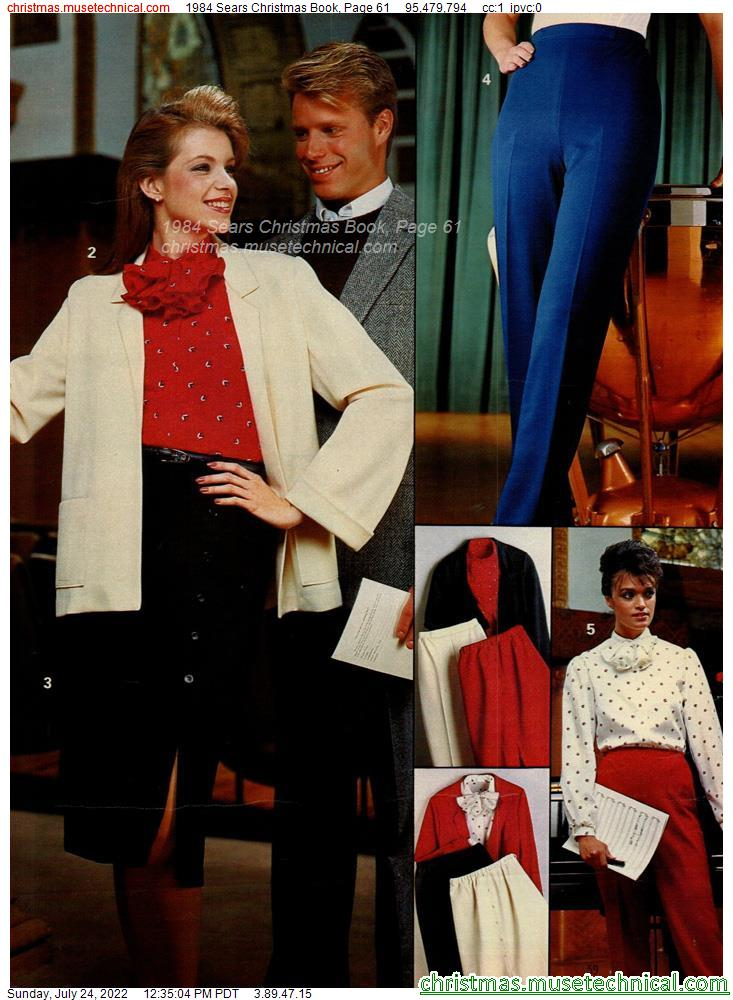 1984 Sears Christmas Book, Page 61
