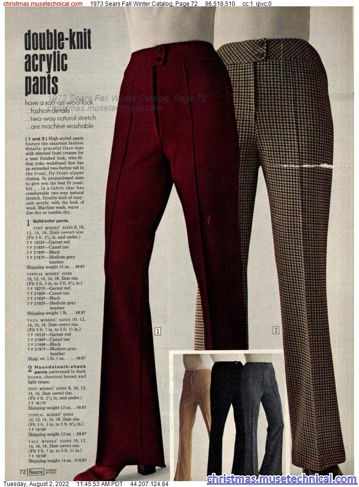 1973 Sears Fall Winter Catalog, Page 72