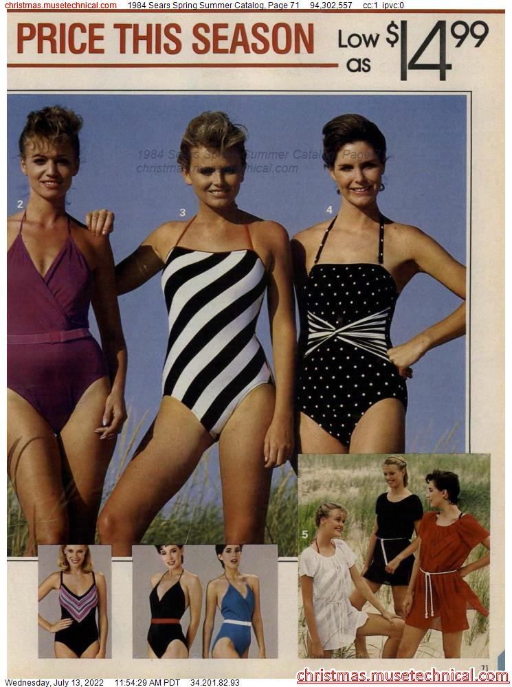 1984 Sears Spring Summer Catalog, Page 71