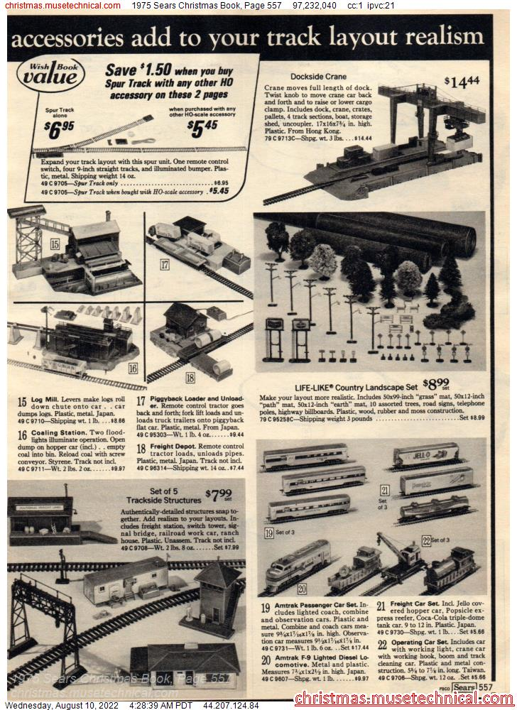 1975 Sears Christmas Book, Page 557