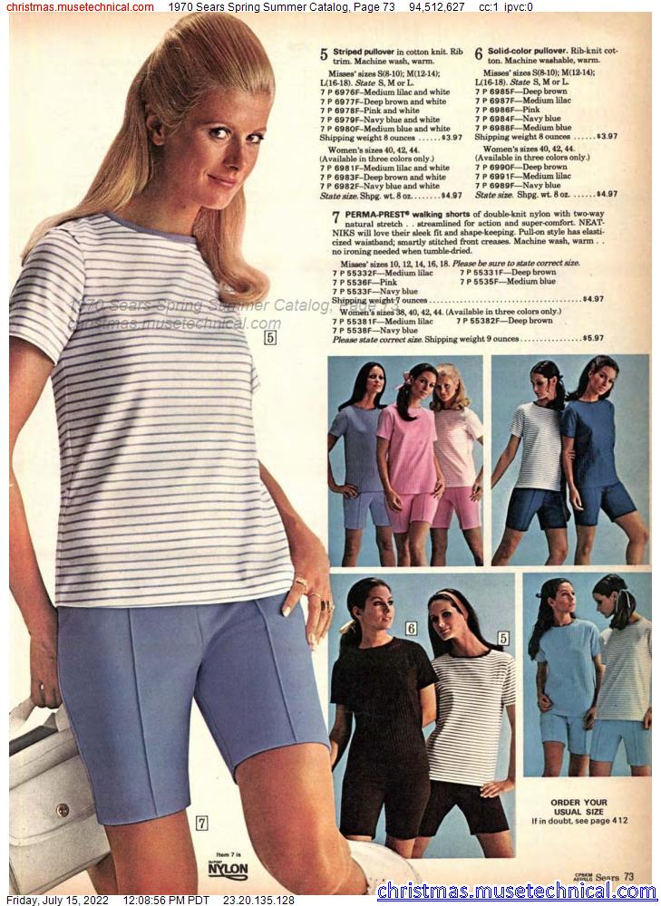 1970 Sears Spring Summer Catalog, Page 73