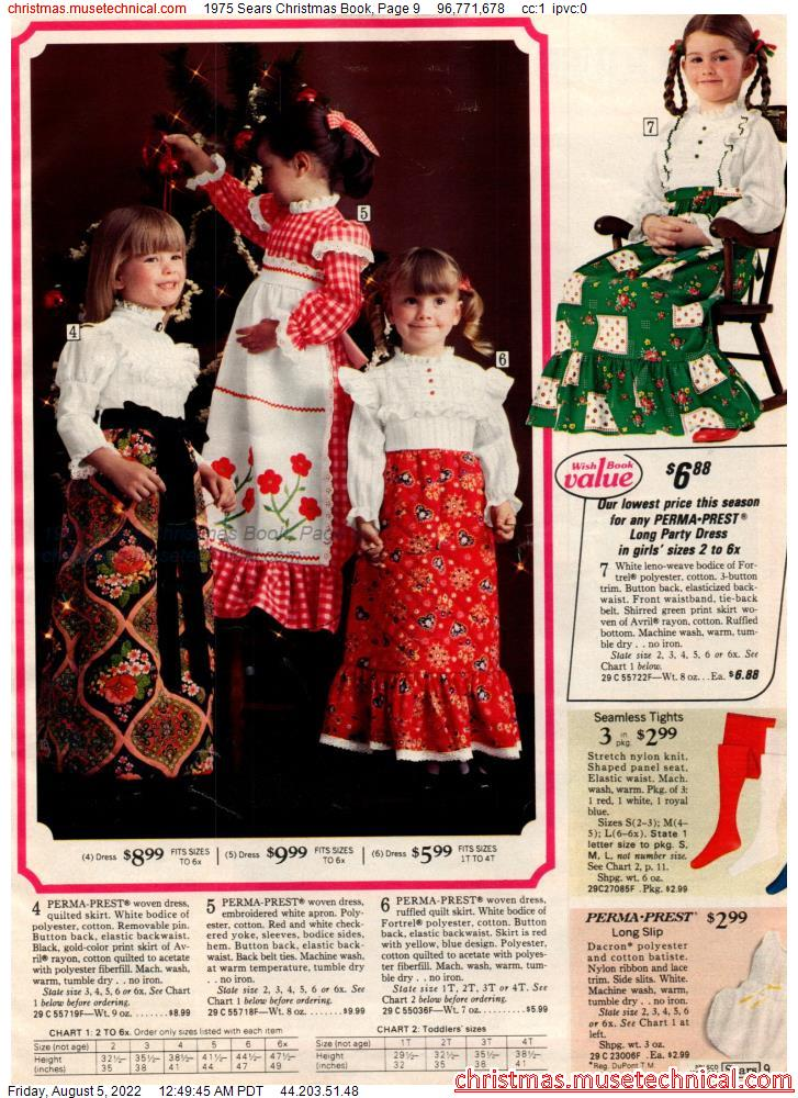 1975 Sears Christmas Book, Page 9