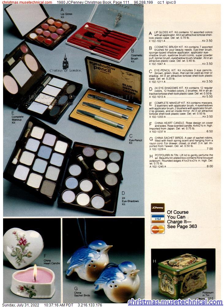 1980 JCPenney Christmas Book, Page 111