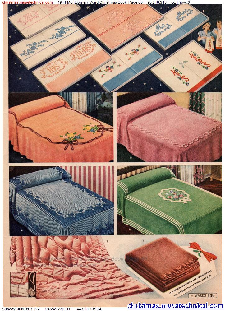 1941 Montgomery Ward Christmas Book, Page 60