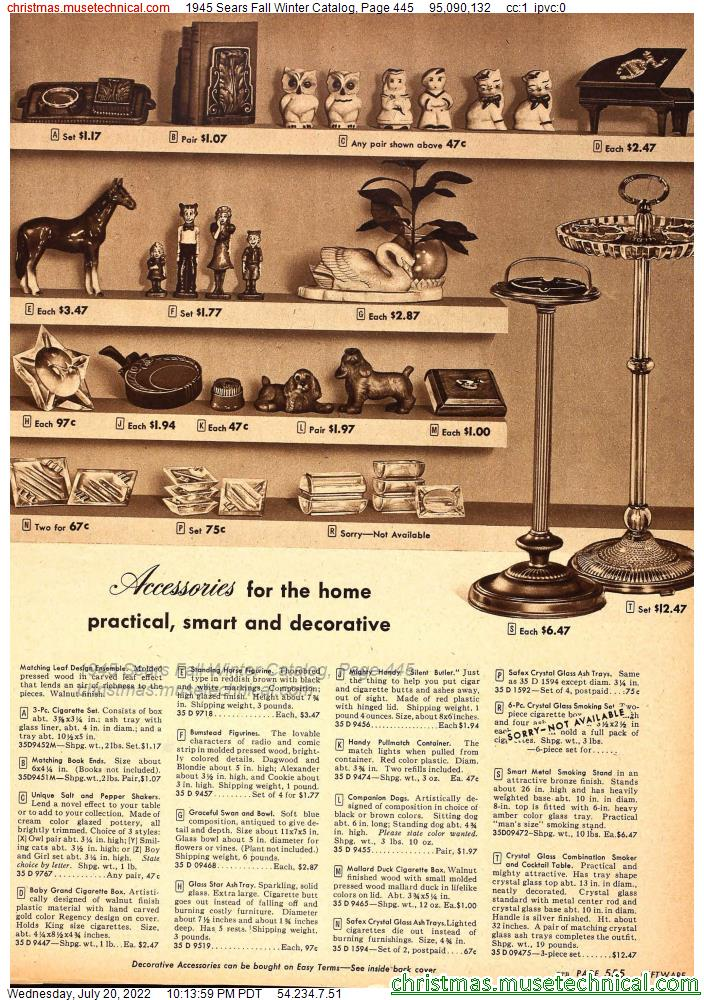 1945 Sears Fall Winter Catalog, Page 118 - Christmas