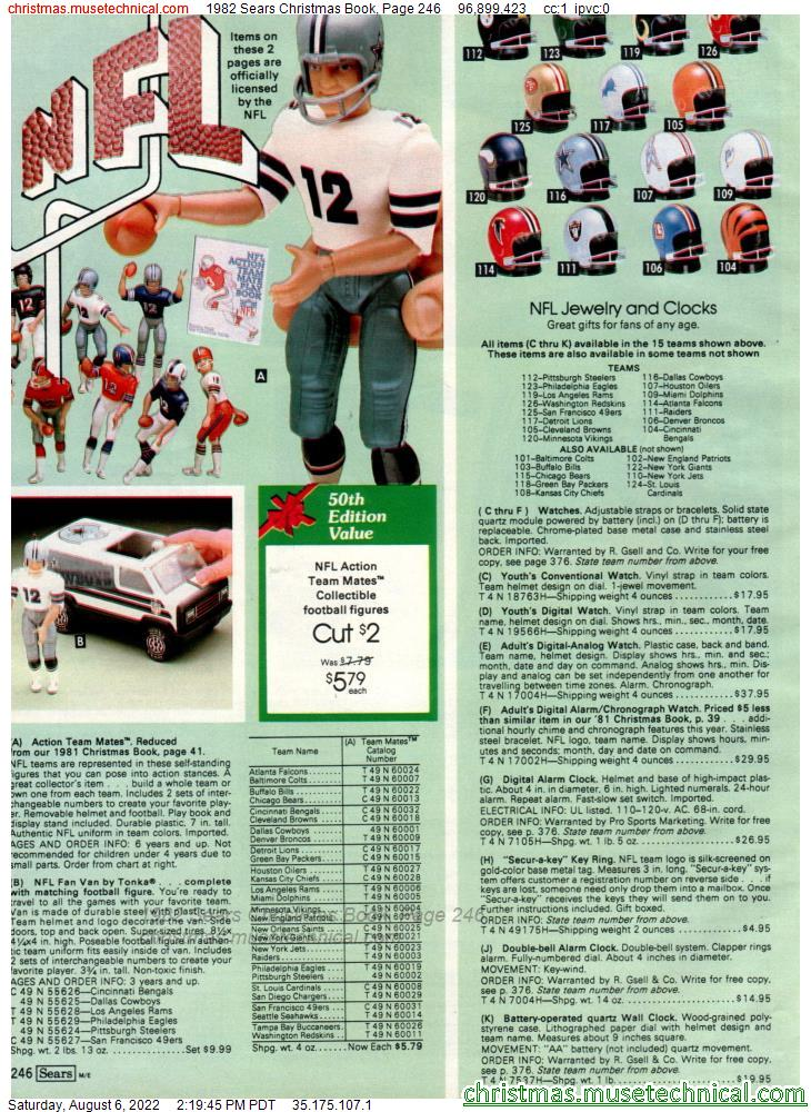 1982 Sears Christmas Book, Page 246
