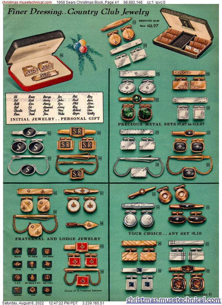 1958 Sears Christmas Book, Page 41