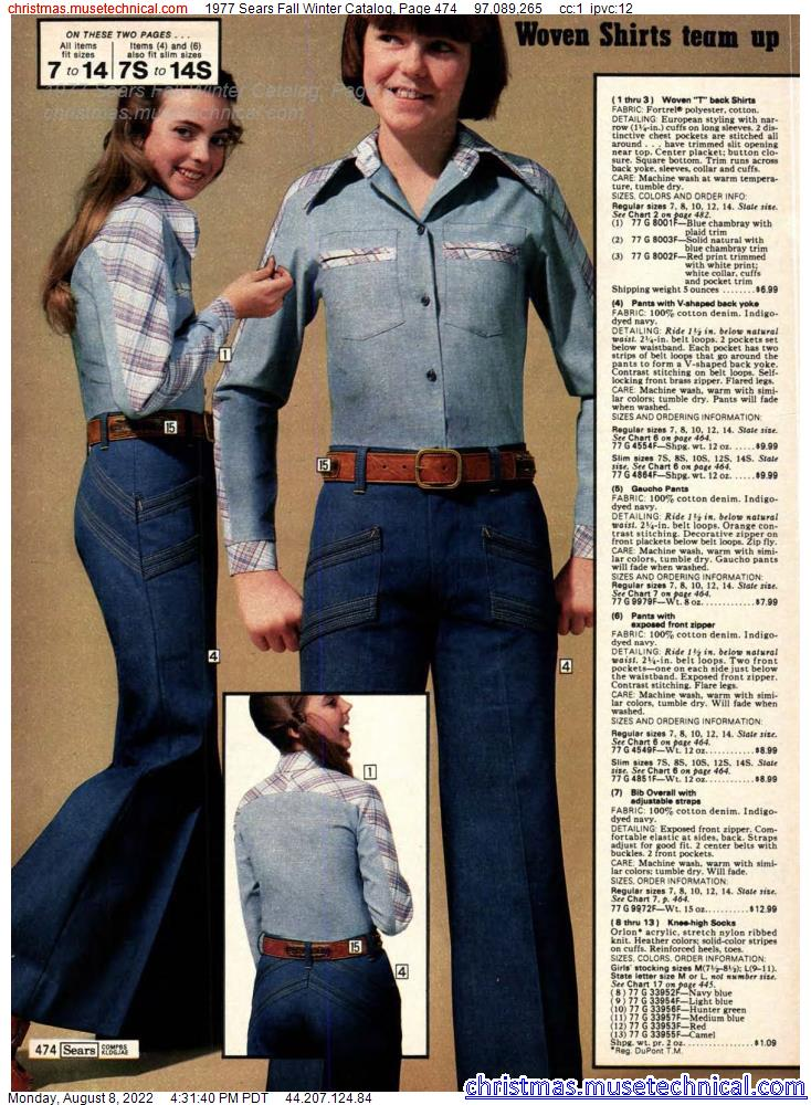 1977 Sears Fall Winter Catalog, Page 474
