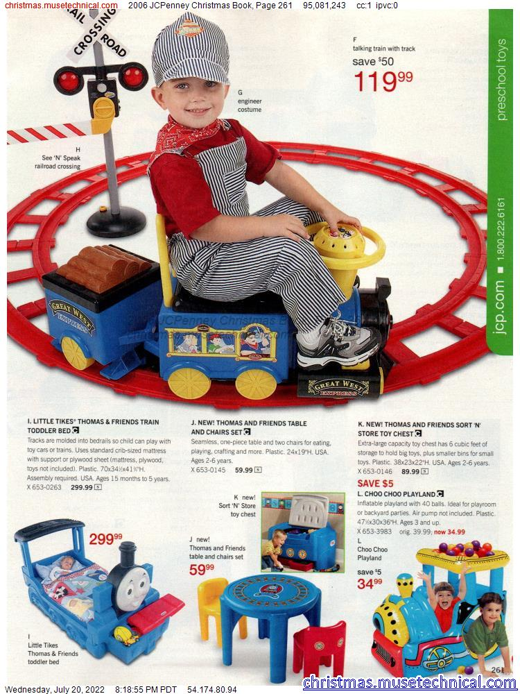 2006 JCPenney Christmas Book, Page 261