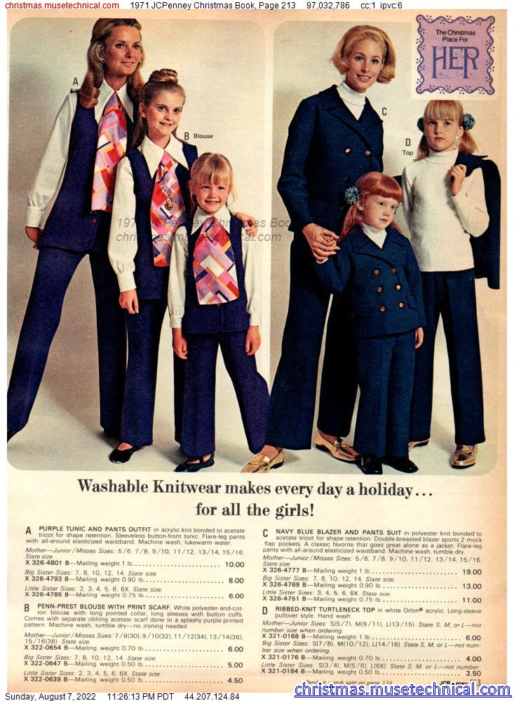 1971 JCPenney Christmas Book, Page 213
