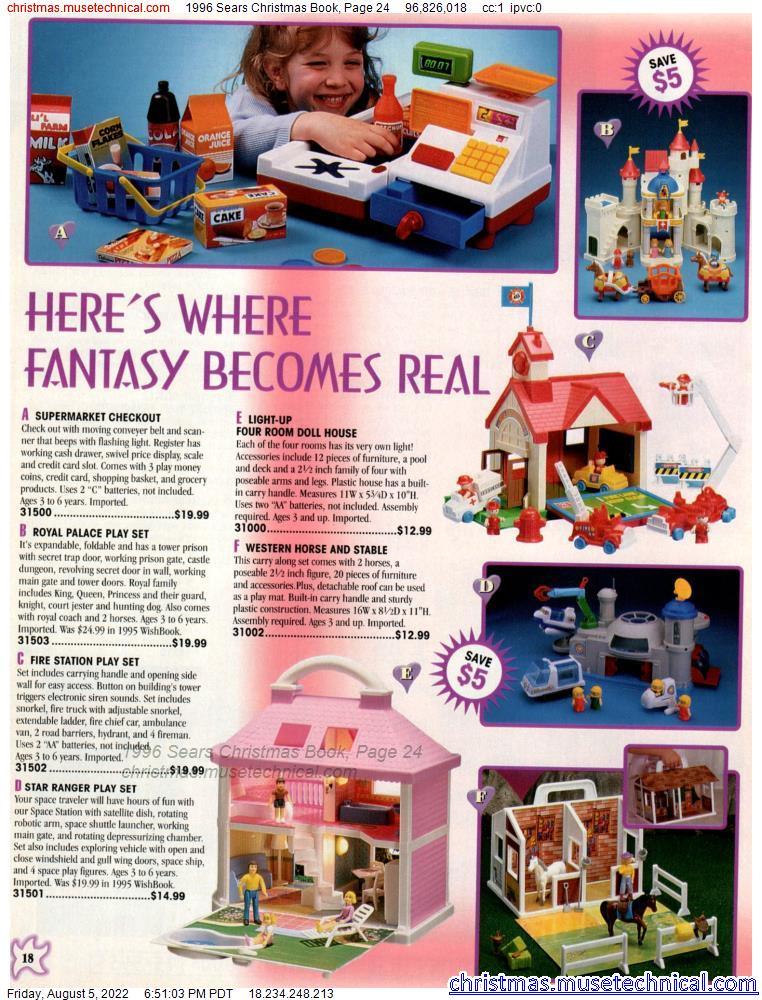 1996 Sears Christmas Book, Page 24