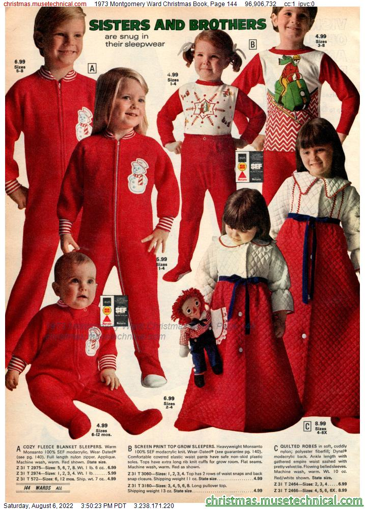 1973 Montgomery Ward Christmas Book, Page 144