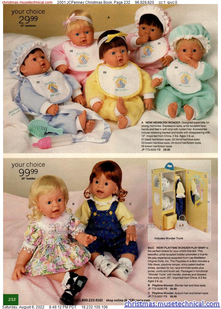 2001 JCPenney Christmas Book, Page 232