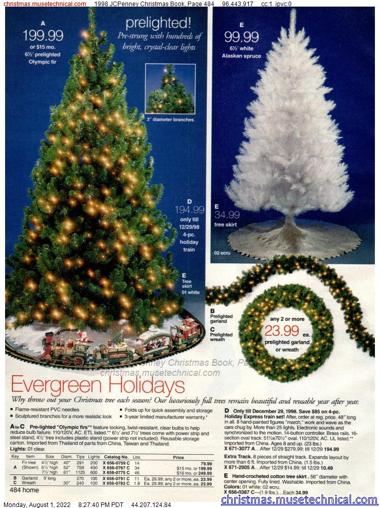 1998 JCPenney Christmas Book, Page 484