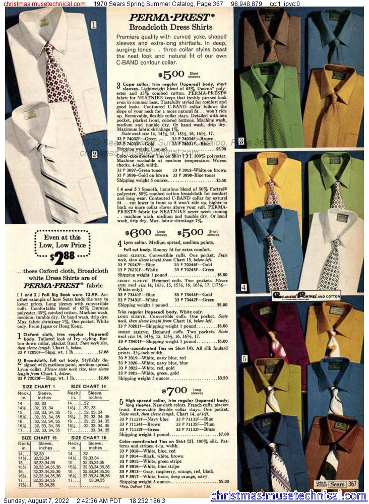 1970 Sears Spring Summer Catalog, Page 367