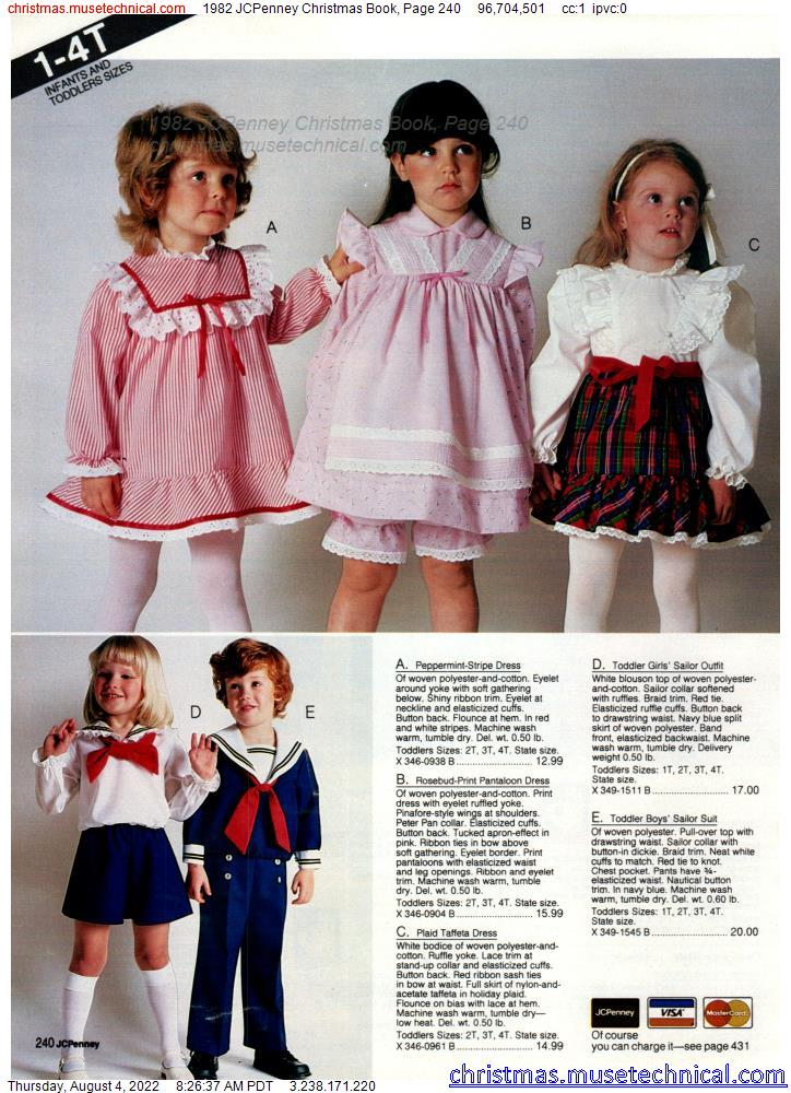 1982 JCPenney Christmas Book, Page 240