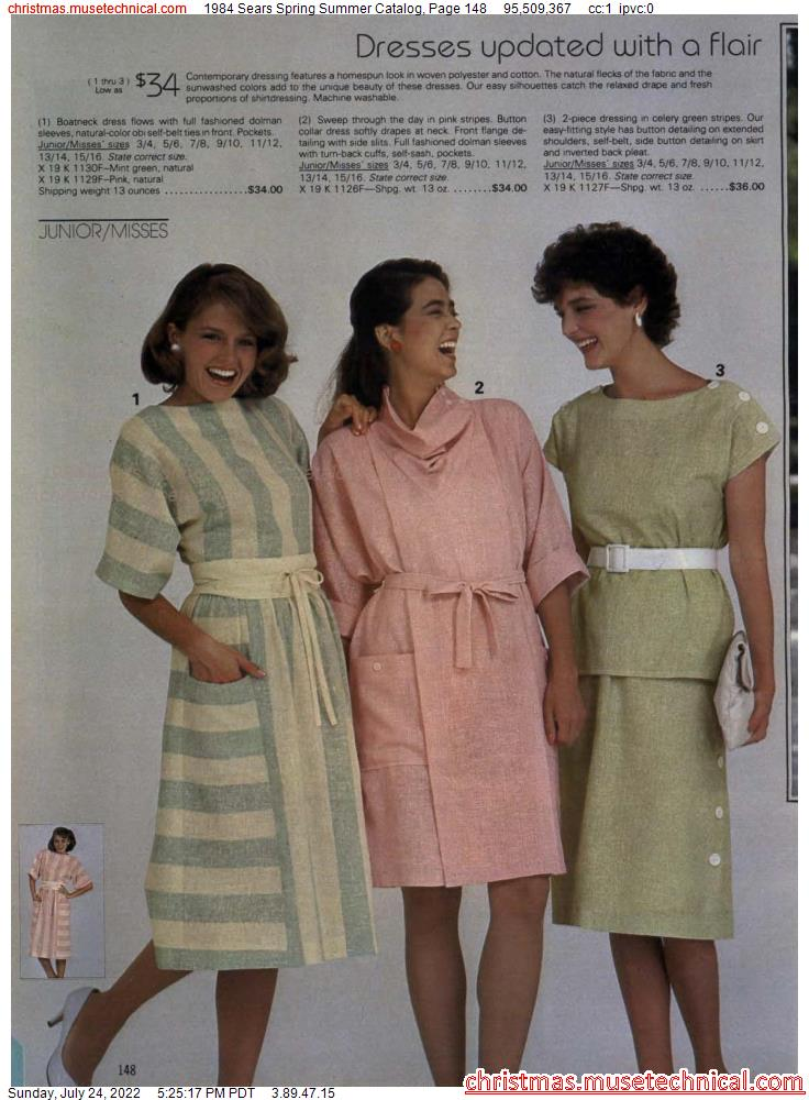 1984 Sears Spring Summer Catalog, Page 148