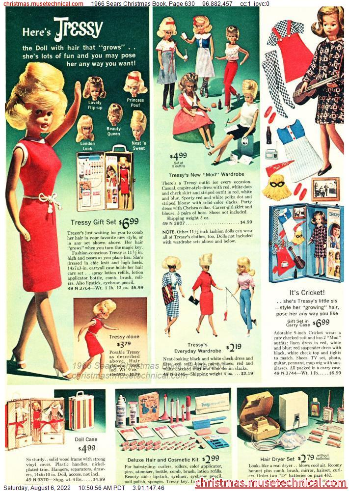 1966 Sears Christmas Book, Page 630