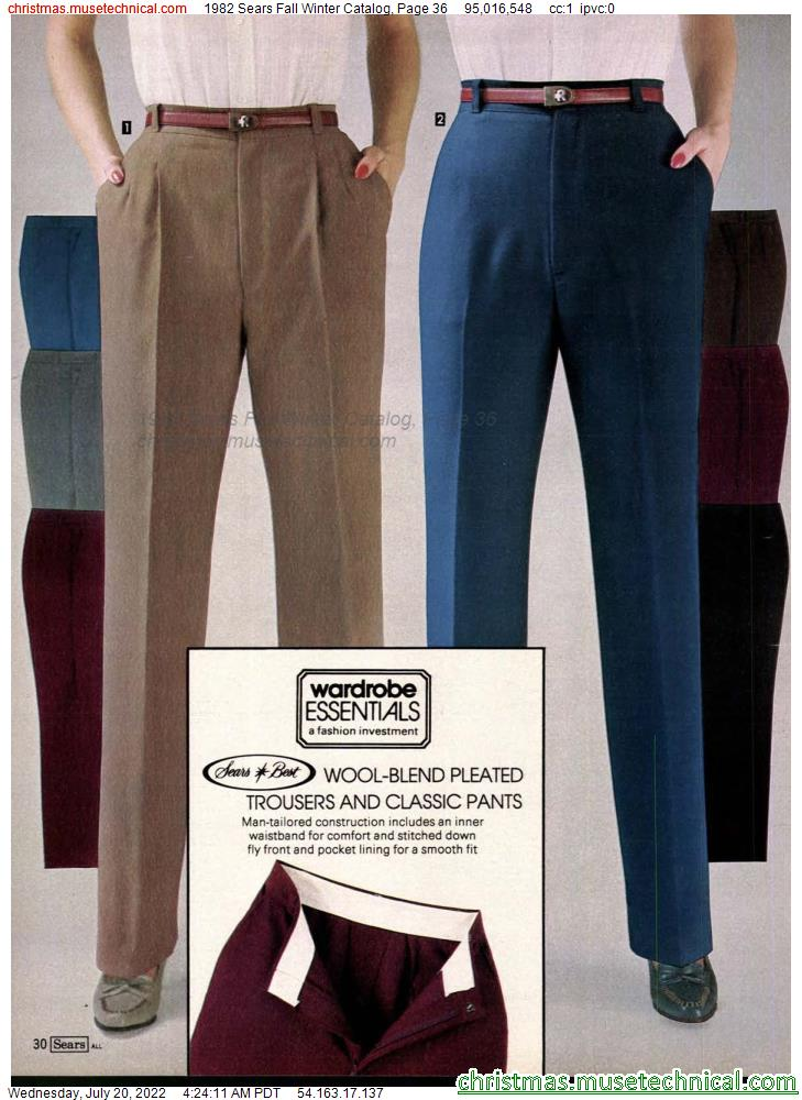 1982 Sears Fall Winter Catalog, Page 36