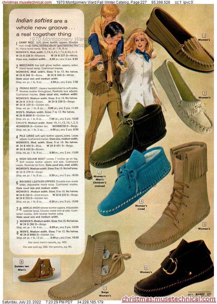 1970 Montgomery Ward Fall Winter Catalog, Page 227