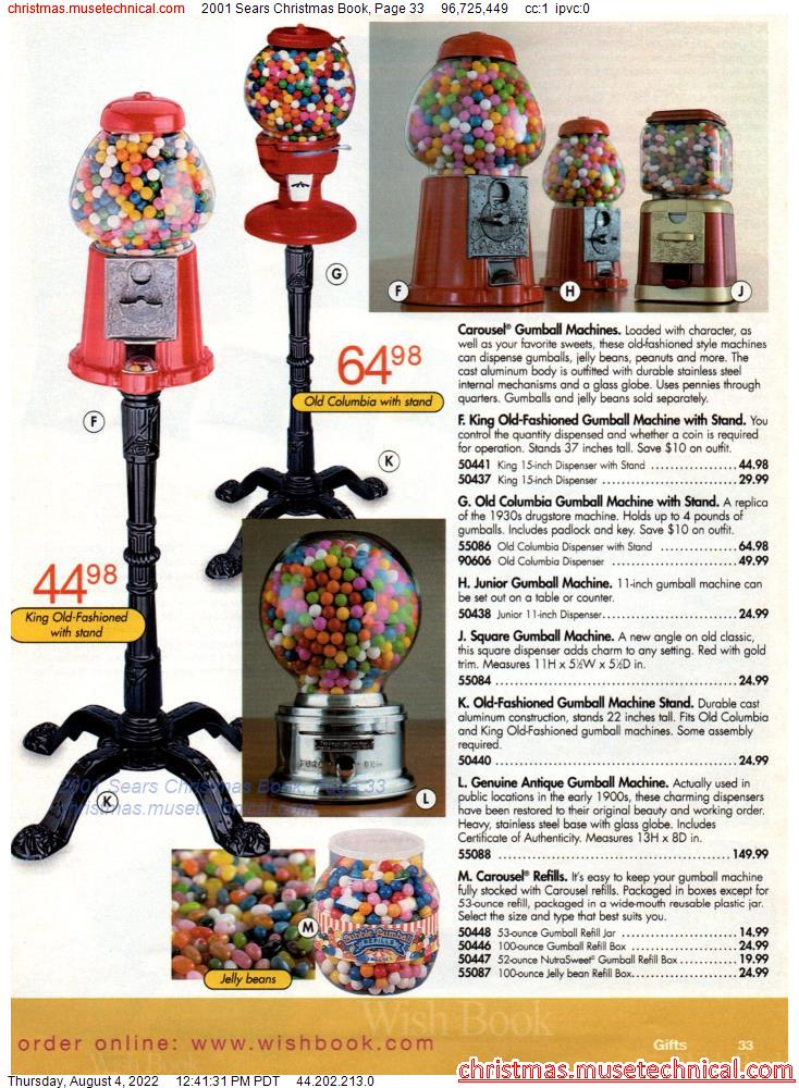 2001 Sears Christmas Book, Page 33