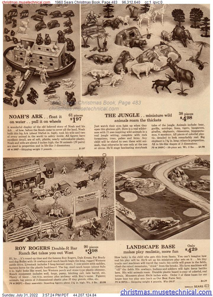 1960 Sears Christmas Book, Page 483