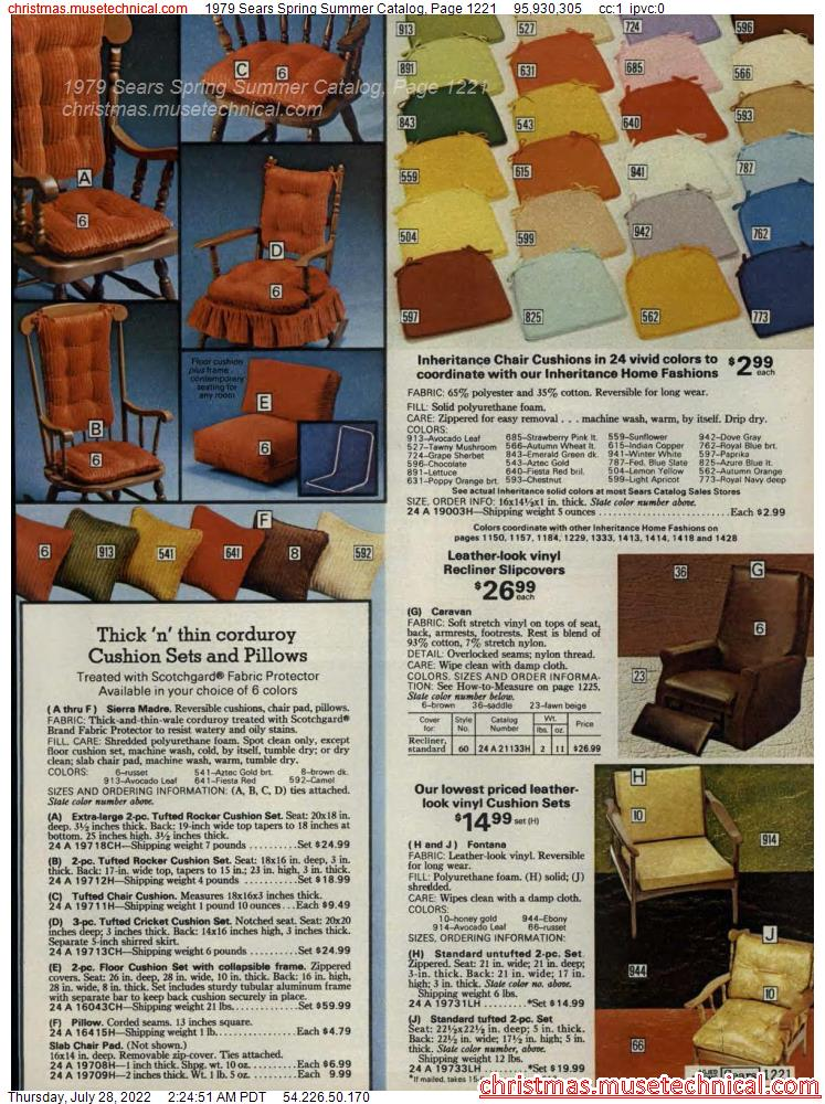 1979 Sears Spring Summer Catalog, Page 1221
