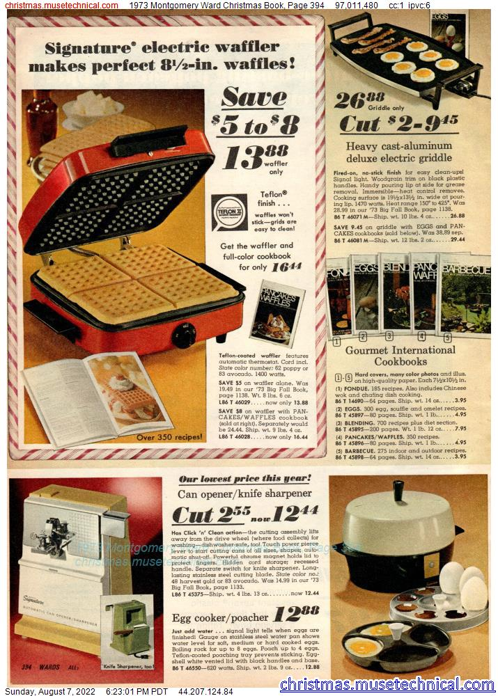 1973 Montgomery Ward Christmas Book, Page 394