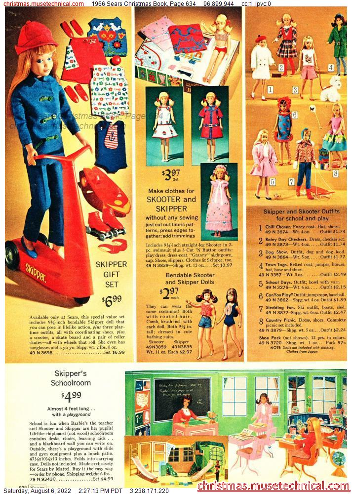 1966 Sears Christmas Book, Page 634
