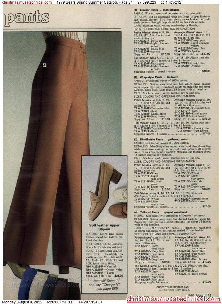 1979 Sears Spring Summer Catalog, Page 31