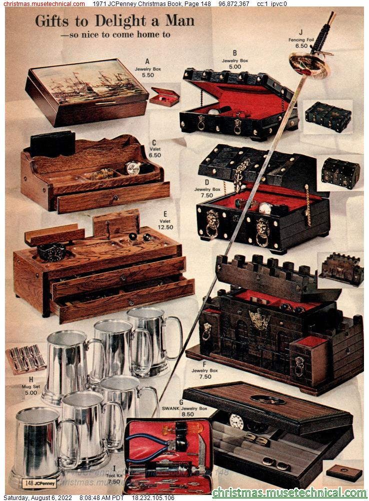 1971 JCPenney Christmas Book, Page 148