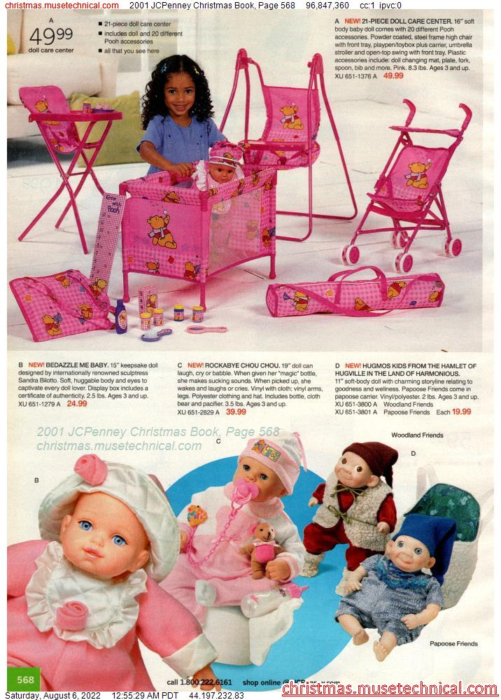 2001 JCPenney Christmas Book, Page 568