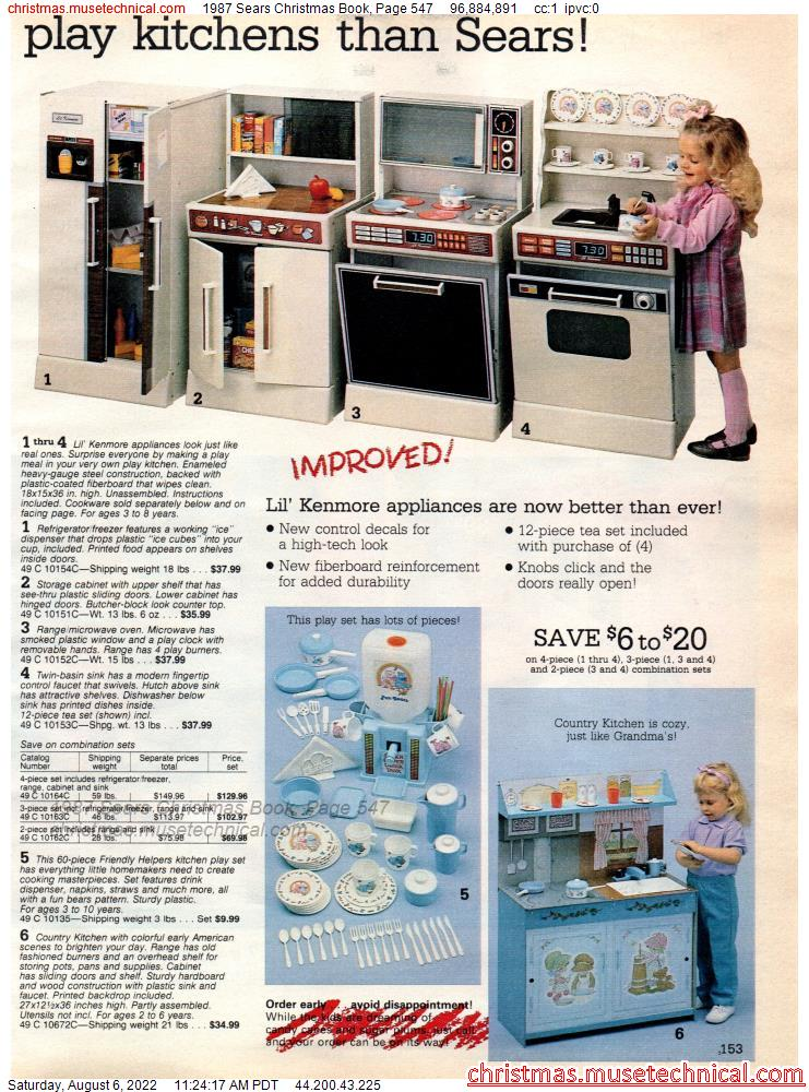 1987 Sears Christmas Book, Page 547