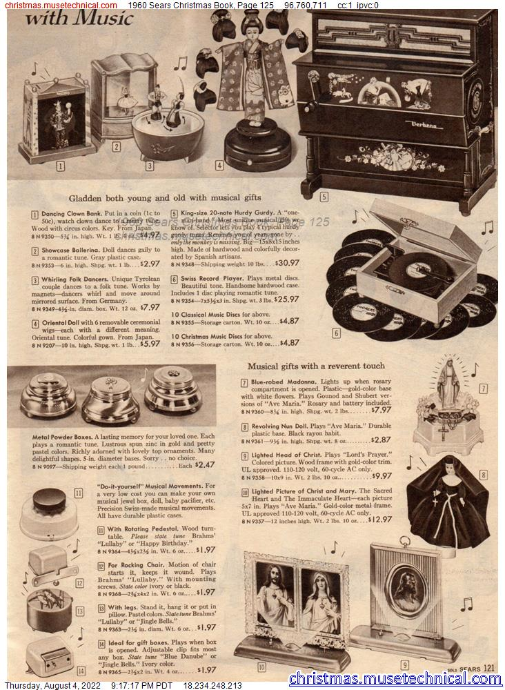 1960 Sears Christmas Book, Page 125