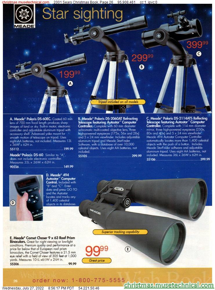2001 Sears Christmas Book, Page 26